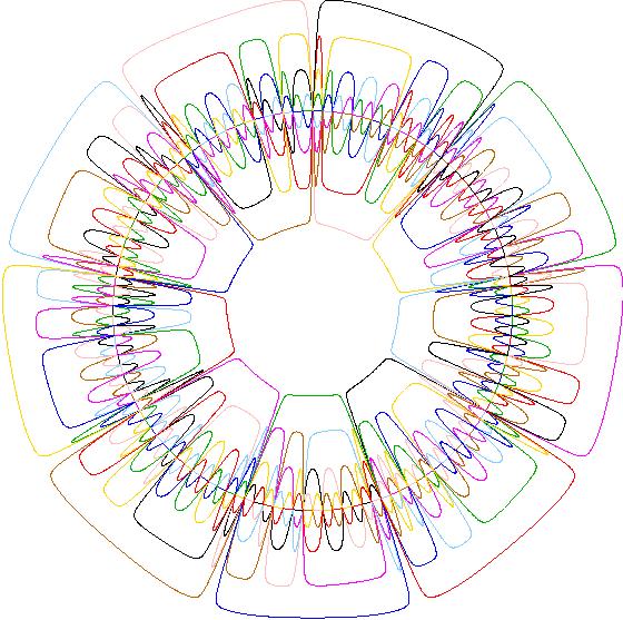 A survey of venn diagrams variants on symmetry a 93 pseudo symmetric venn diagram ccuart Gallery